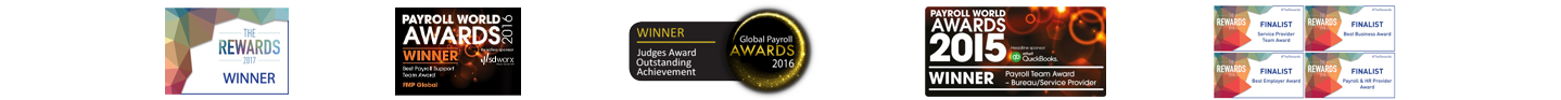 Payroll service awards