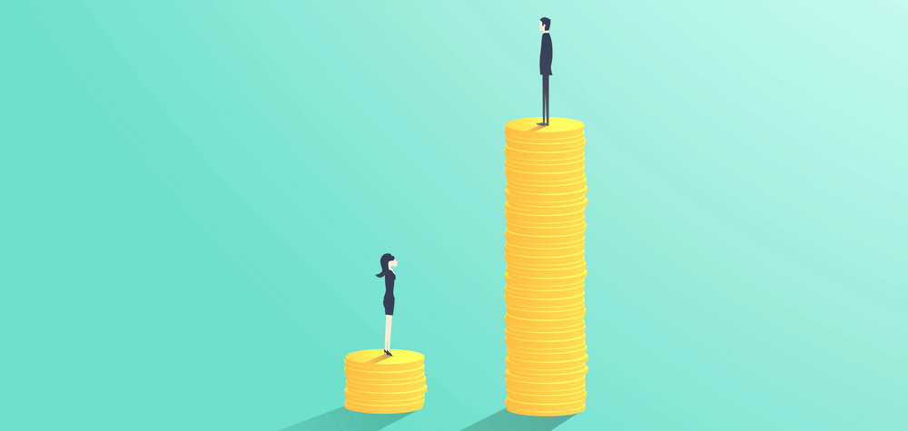 demonstration of unequal pay