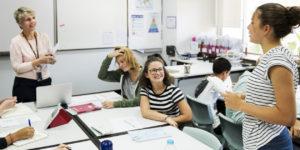 Gender pay gap in education