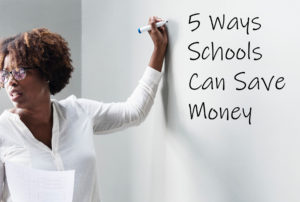 Saving money tips for schools