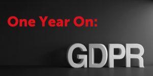 GDPR: One Year On