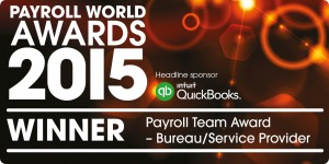 Payroll World awards Winners Logo
